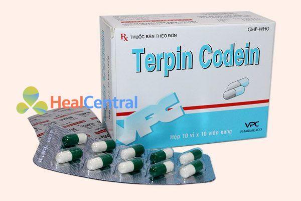 Thuốc kết hợp terpin và codein