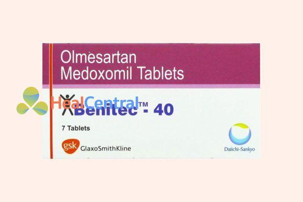 Thuốc Olmesartan Medoxomil