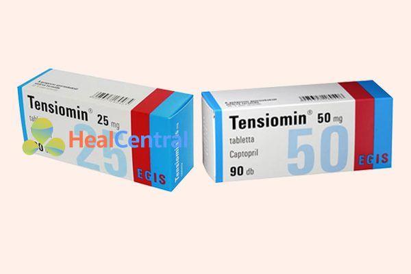 Thuốc Tensiomin 25mg và 50mg