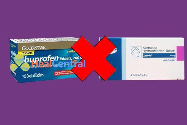 Tương tác thuốc Ibuprofen và Sertraline