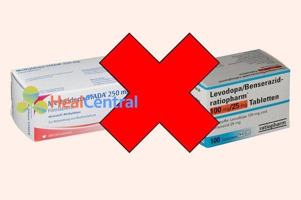 Tương tác thuốc methyldopa và levodopa