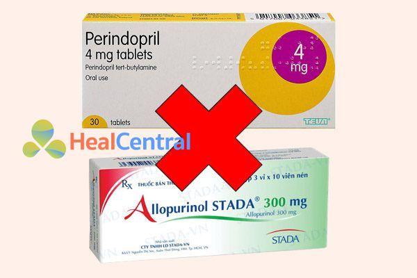 Tương tác thuốc perindopril và allopurinol