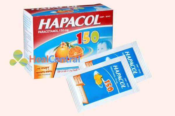 Hộp thuốc Hapacol 150