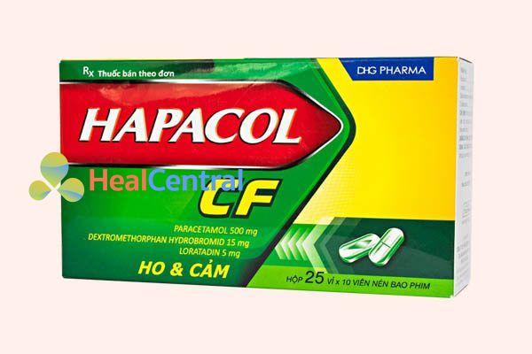 Hộp thuốc Hapacol CF