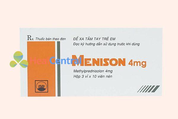 Hộp thuốc Menison