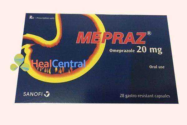 Hộp thuốc Mepraz