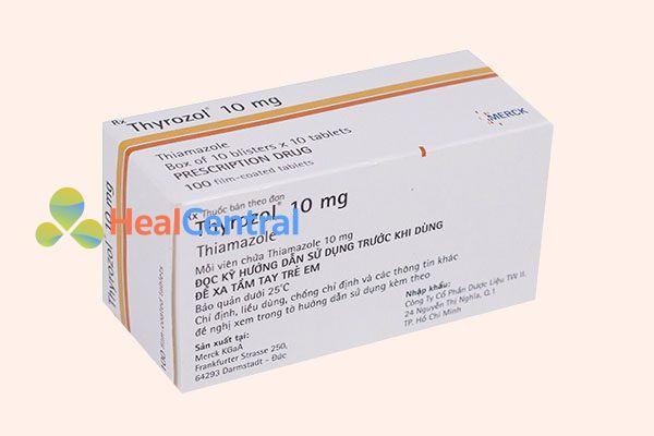 Hộp thuốc Thyrozol