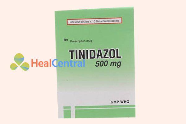 Hộp thuốc Tinidazol