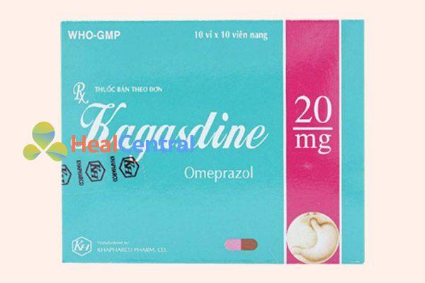 Hộp thuốc Kagasdine 20mg