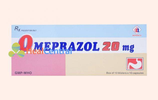 Hộp thuốc Omeprazole