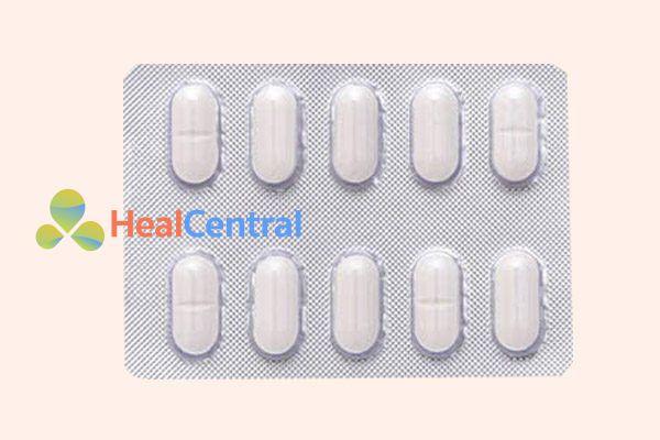 Vỉ thuốc Tinidazol