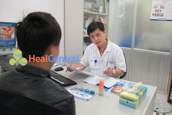 Bác sĩ tư vấn sử dụng thuốc Xtrazex