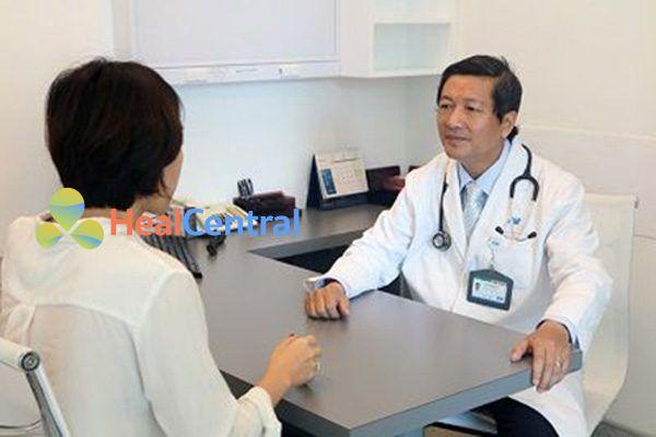 Bác sĩ tư vấn sử dụng thuốc Dobutamin