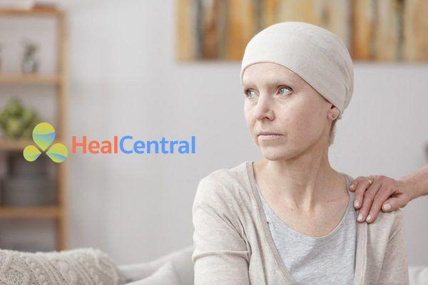 Bệnh nhân ung thư sau xạ trị