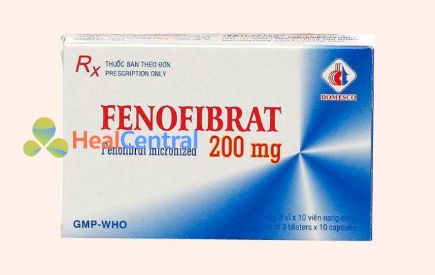 Hộp thuốc Fenofibrat
