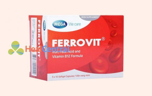 Hộp thuốc Ferrovit