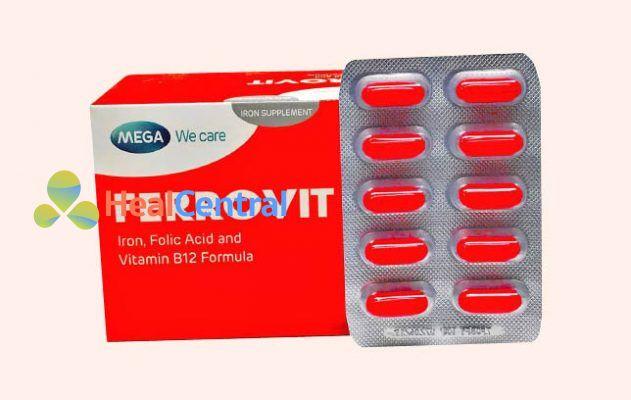 Thuốc Ferrovit