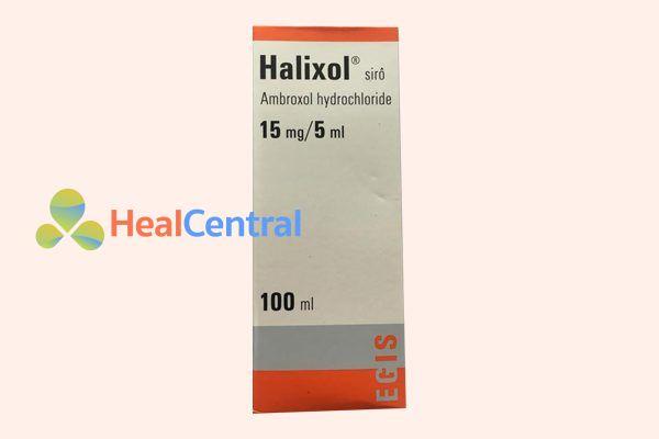 Hộp thuốc Halixol