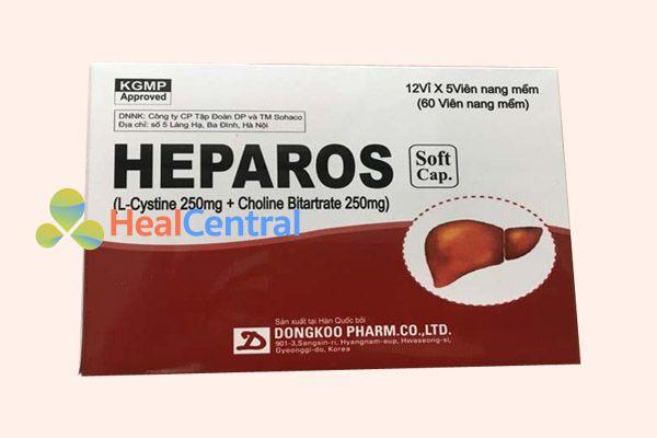 Hộp thuốc Heparos