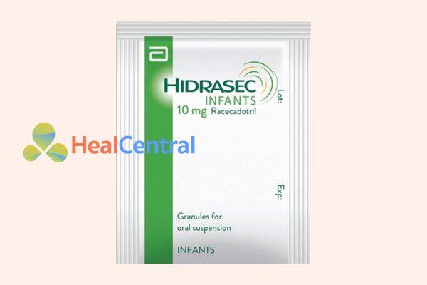 Gói thuốc Hidrasec