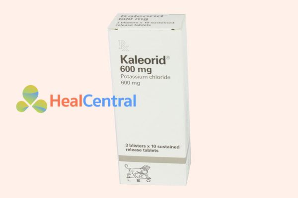 Hộp thuốc Kaleorid