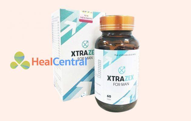 Hộp và lọ thuốc Xtrazex