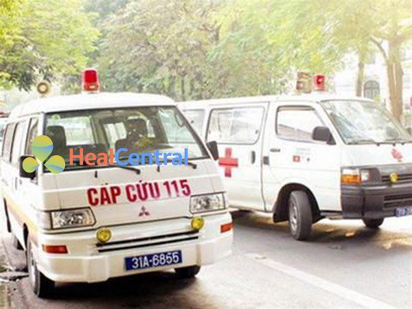 xe cấp cứu 115