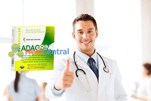 Bác sĩ tư vấn sử dụng Adagrin