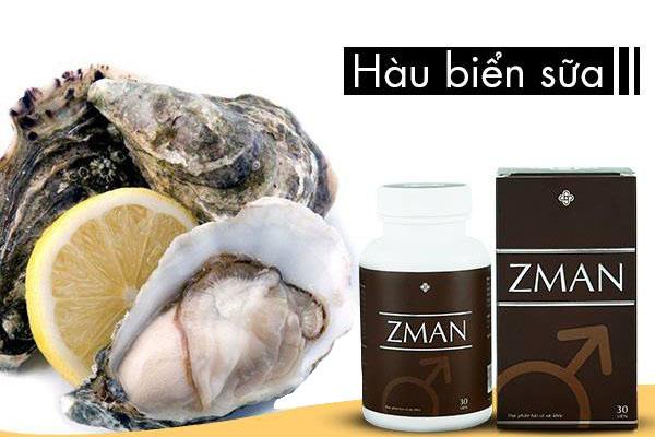 Zman có chứa tinh hàu biển