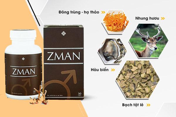 Thành phần của thuốc Zman