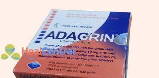 Thuốc Adagrin 50mg