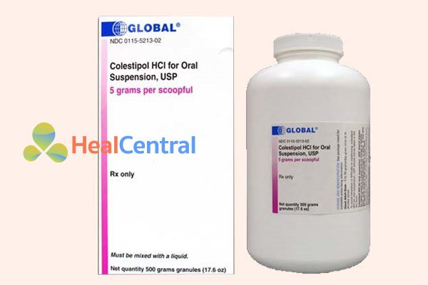 Thuốc Colestipol HCl for Oral Suspension, USP