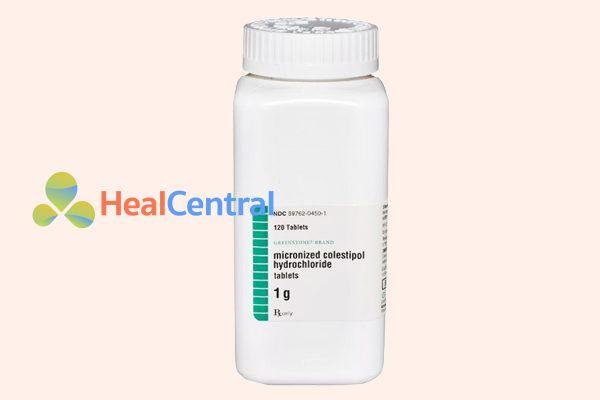 Lọ thuốc Micronized Colestipol Hydrochloride