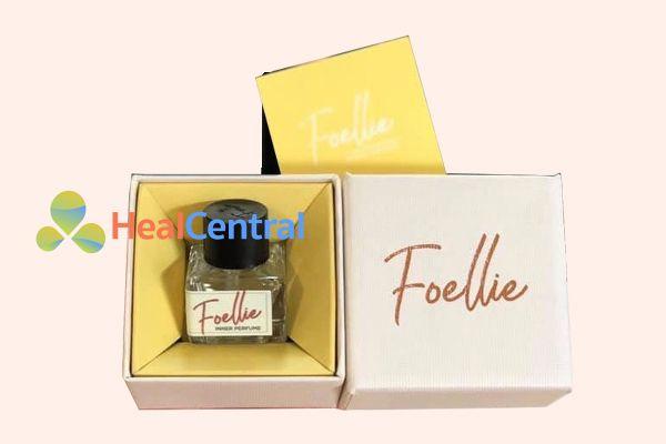 Mùi hương hoa đào - Foellie Eau de Innerb (lọ màu trắng)