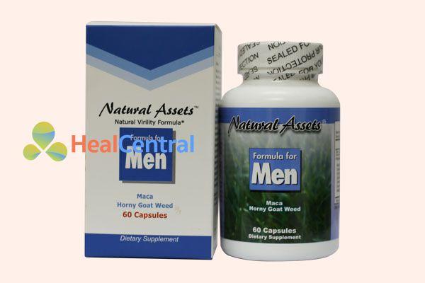 Formula For Men giúp tăng thời gian quan hệ một cách tự nhiên