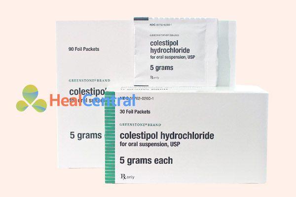 Thuốc Colestipol Hydrochloride 5g
