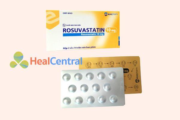 Thuốc Rosuvastatin 10mg