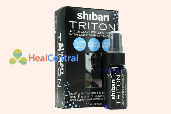Thuốc xịt Shibari triton