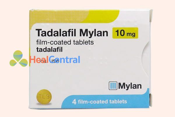 Thuốc Tadalafil Mylan 10mg