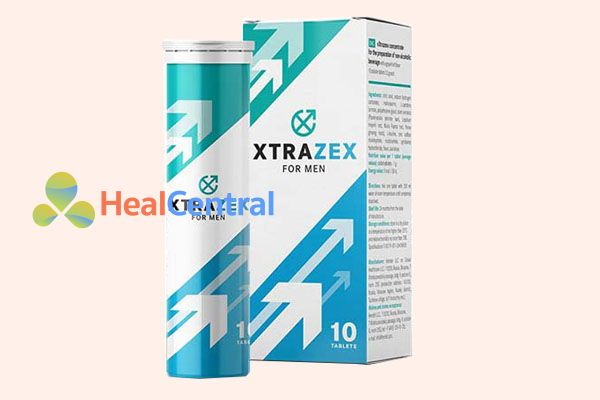Viên sủi Xtrazex giúp kéo dài thời gan quan hệ