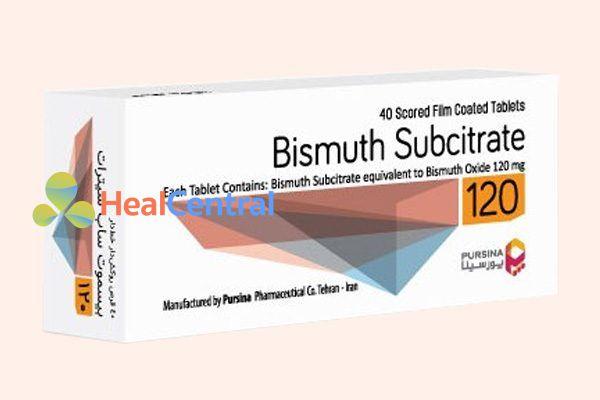 Hình ảnh thuốc Bismuth