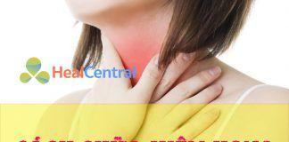 Cách chữa viêm họng