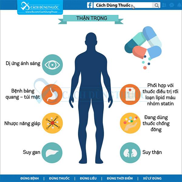 Hướng dẫn sử dụng thuốc bezafibrate 3