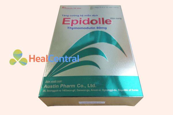 Thuốc Epidolle không dùng cho phụ nữ có thai và cho con bú