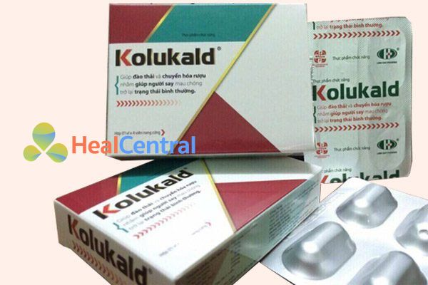 Thuốc giải rượu dạng viên Kokukald