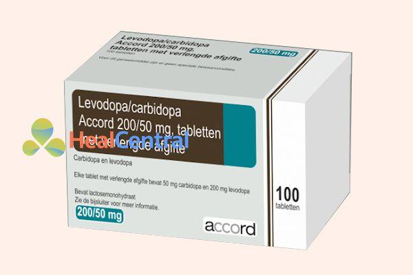 Levodopa + carbidopa và biperiden.