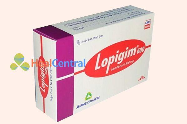 Thuốc Lopigim 600mg