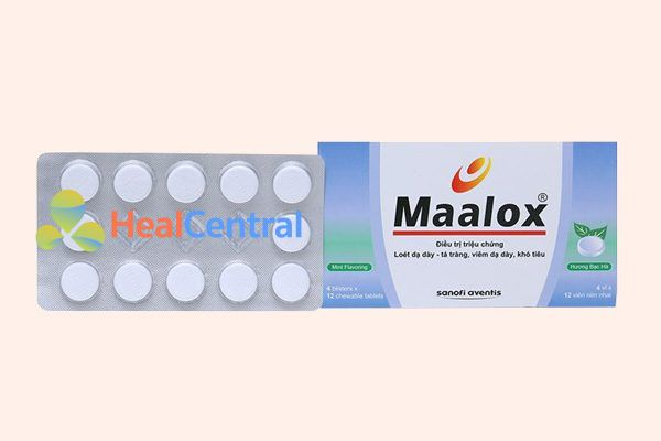 Thuốc dạ dày Maalox