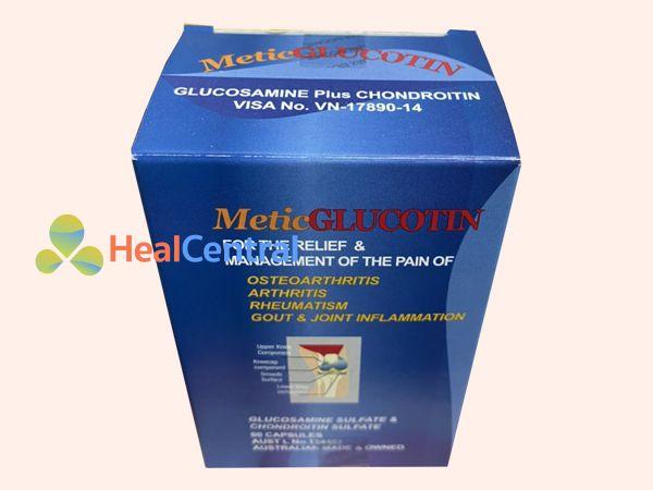 Hình ảnh: Hộp thuốc Metic glucotin