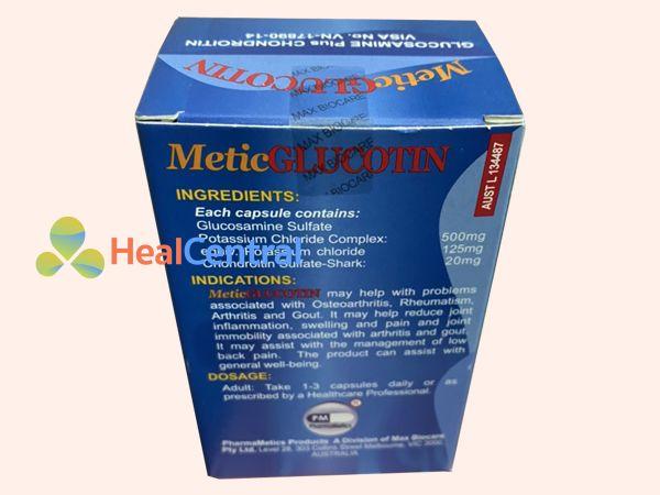 Metic glucotin chính hãng